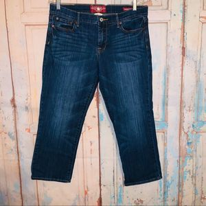 Lucky Brand Sweet N Low Crop Jeans 12/31